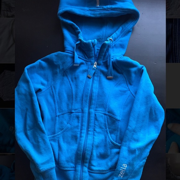 By JJ Hooded Jacket with Mesh Detailing